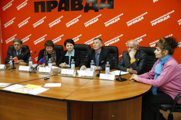 фото пресс-конференция 3401