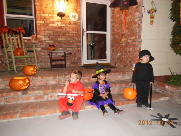 Halloween with friends