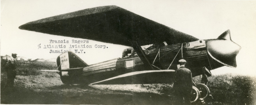 breguet XIX with screw type propellor