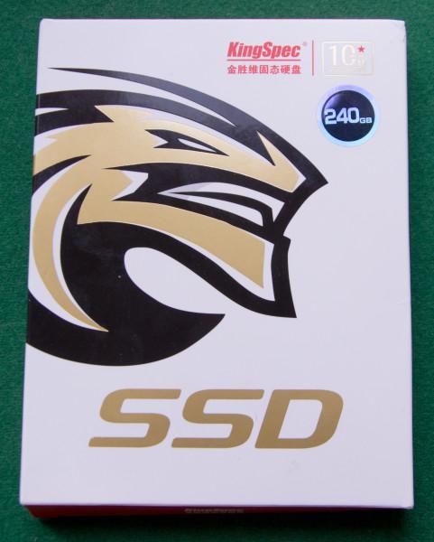 SSD накопитель от KingSpec и с чем его едят.