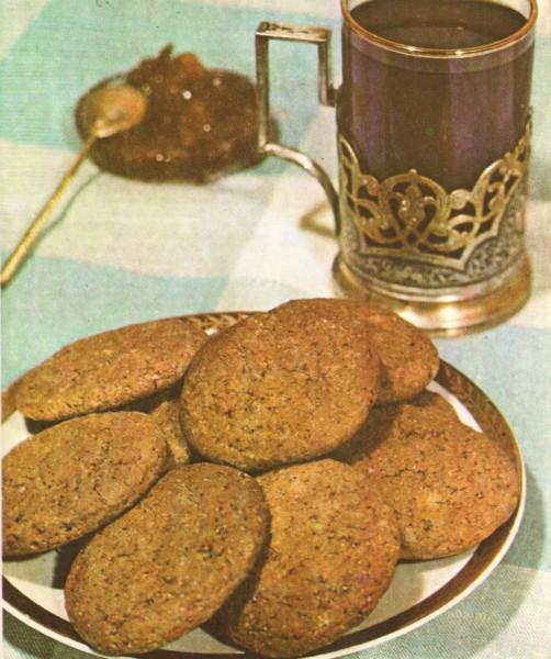 Овсяное печенье-