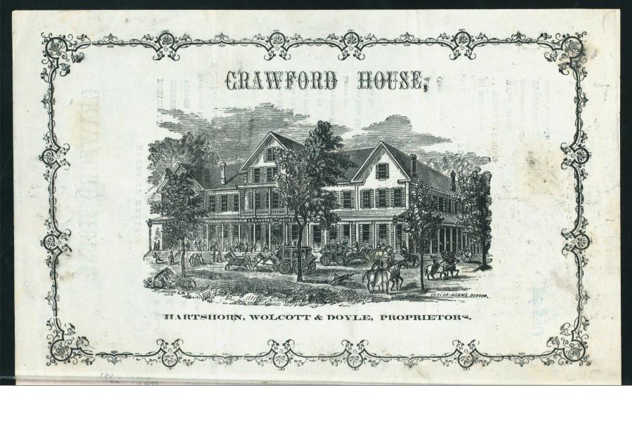 Меню 1866 - 1
