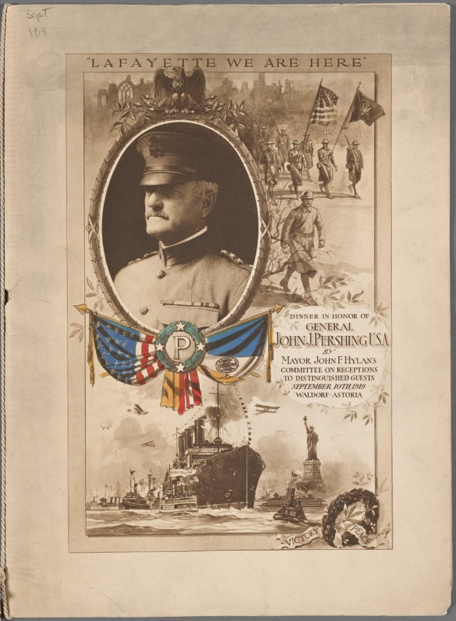 Меню 1919 - 1