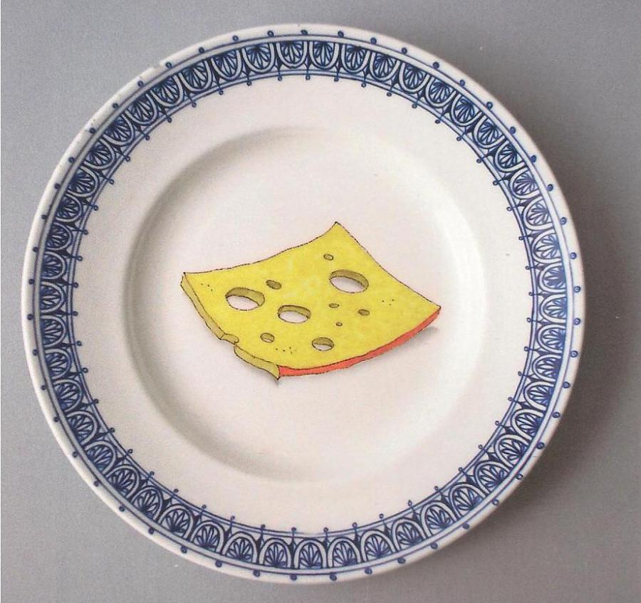 Сыр с маслом