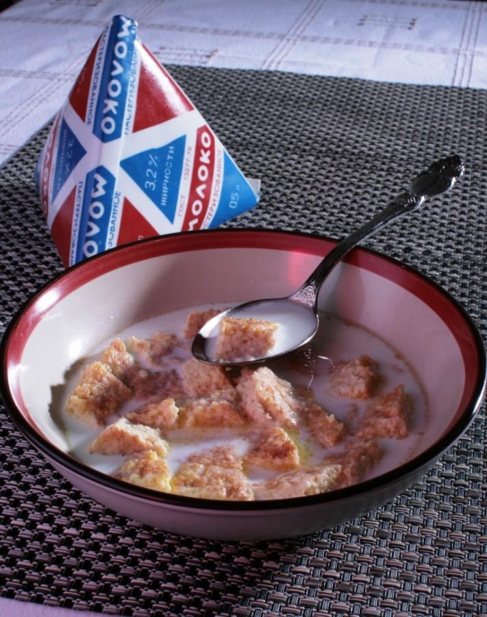 Суп молочный-