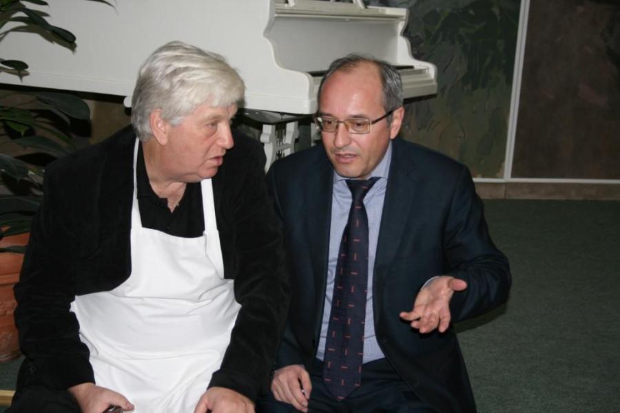 Йозеф Киблицкий и Павел Сюткин