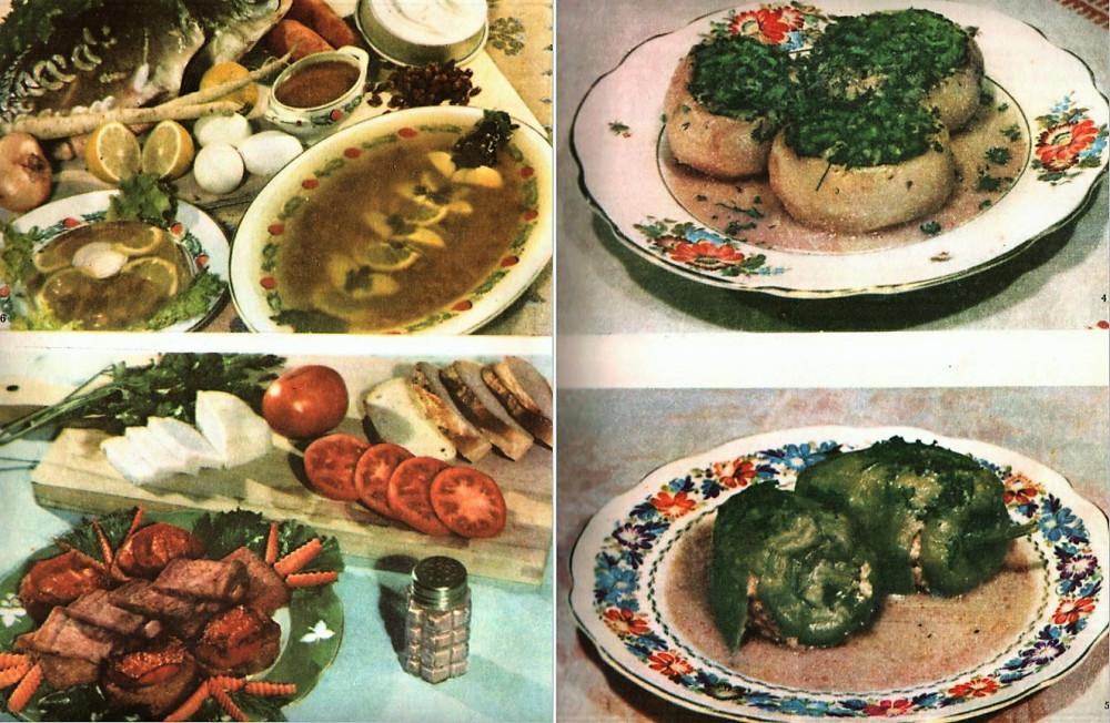 """Иллюстрации в этом посте - из прекрасной книги """"Украинские блюда"""" (Киев, 1960)"""