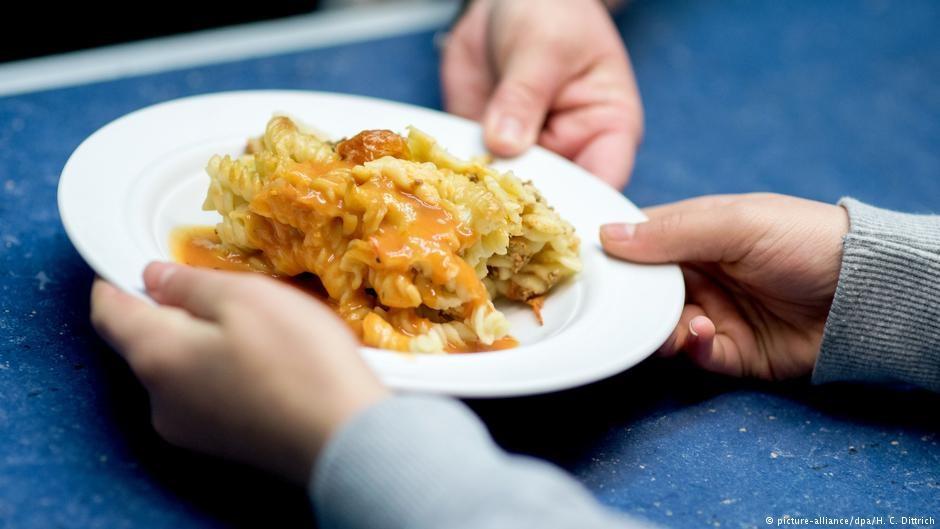 На обед в немецкой школе часто дают пасту