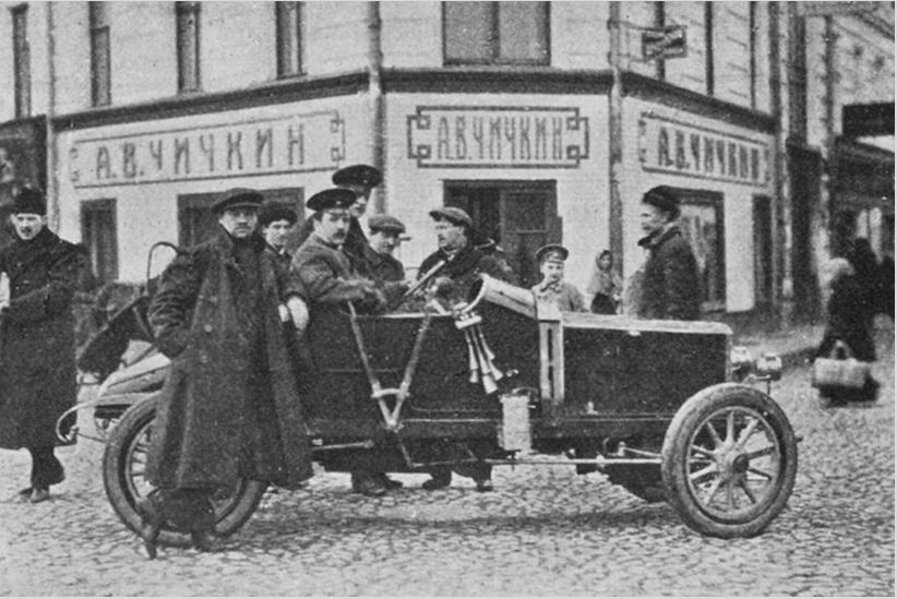 Магазин Чичкина на Арбатской площади в Москве
