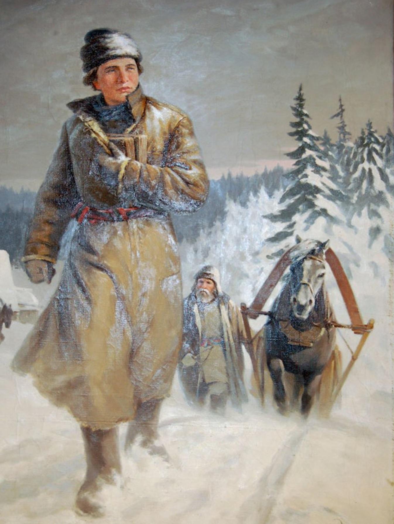 В декабре 1730 года юный Михайло Ломоносов прибыл в Первопрестольную с обозом архангельской трески