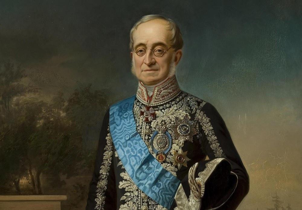 Ботман Е.И. Портрет графа Карла Васильевича Нессельроде (около 1870 года)