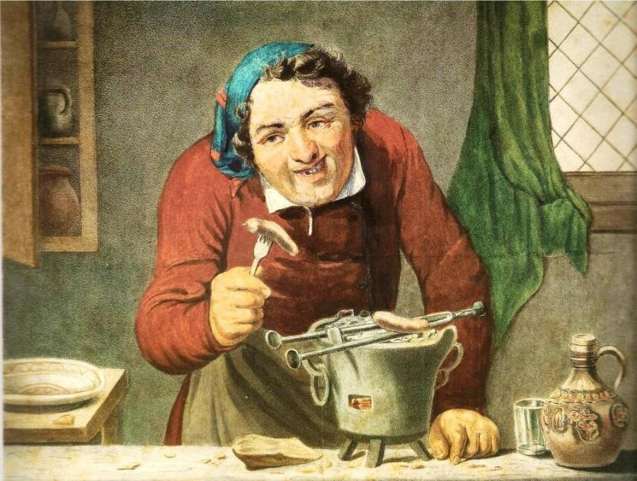 Пироги за огурцами: порядок русского обеда