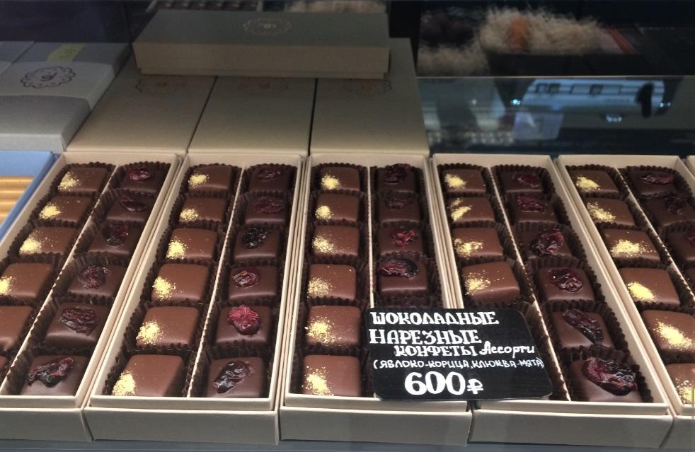 Эти конфеты из магазина на Даниловском рынке Ольга даже взяла с собой в Париж в подарок друзьям