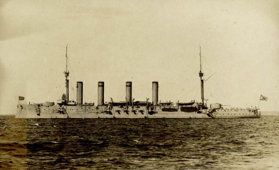 Броненосный крейсер Паллада