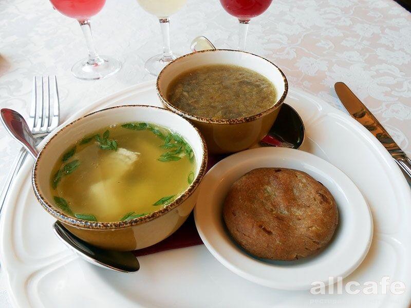 Меню усопшего православного ресторана
