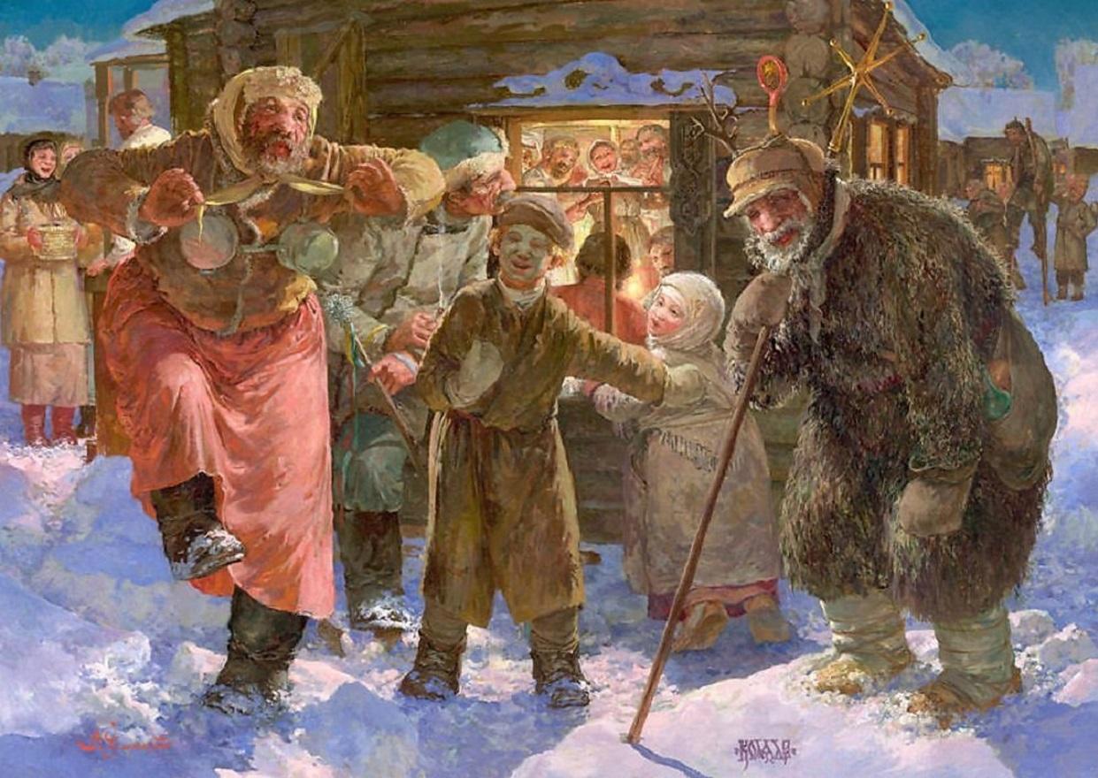 Поздравление с новым годом на древнерусском