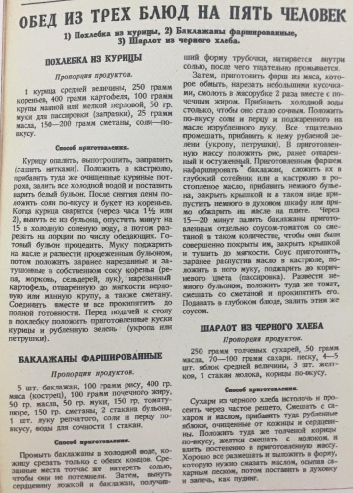 Рабочий народного питания, 1928 год, № 10