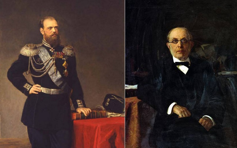 Александр III и Константин Победоносцев