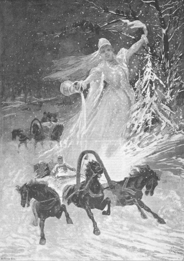 Скиргелло А.Б. Здравствуй в белом сарафане! Журнал «русская иллюстрация (1895)