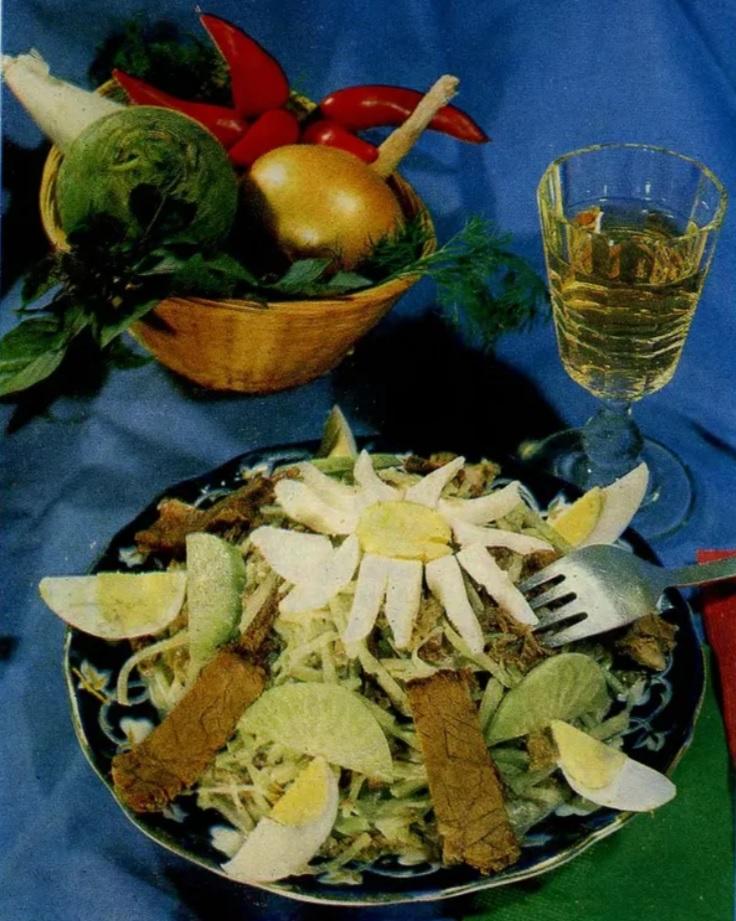 Как советский человек полюбил салаты