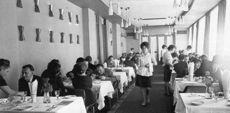 Ресторан в Хабаровске (1970-е годы)