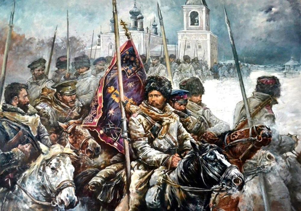 """""""Ледяной поход"""" уральских казаков"""