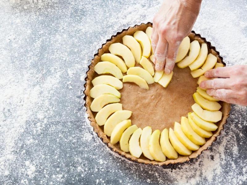 Яблочный пирог - 10 ошибок Пироги,Яблоки