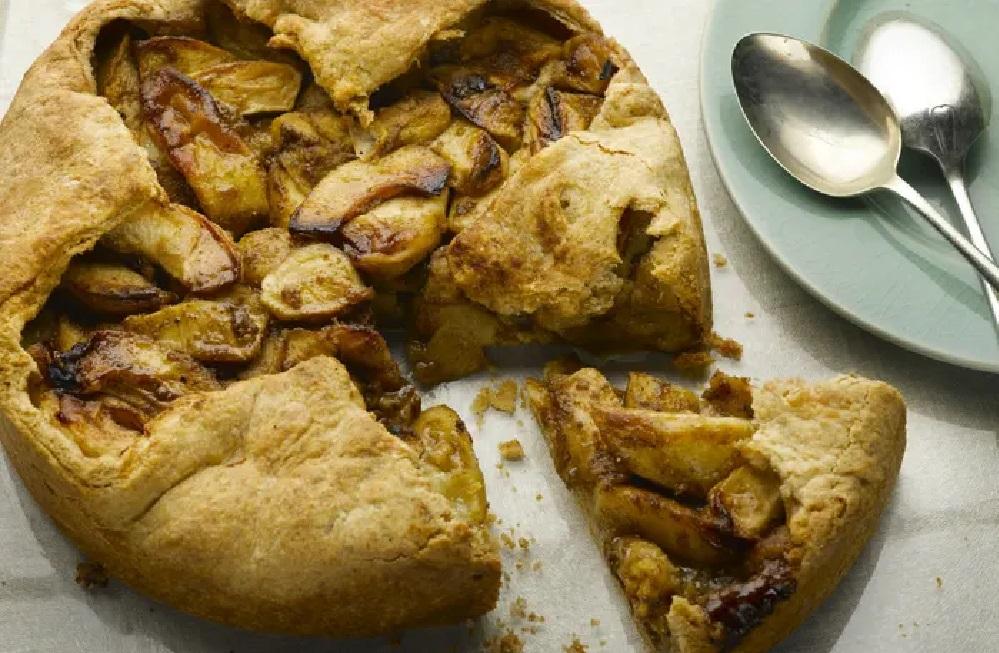 Пивной яблочный пирог