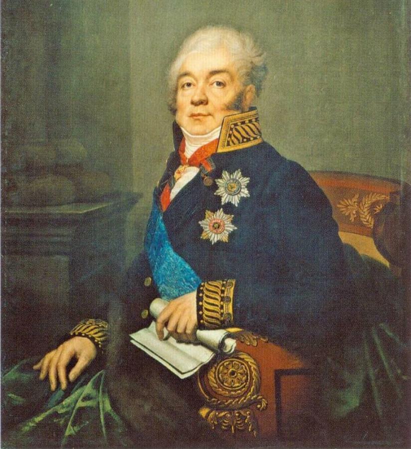 Ромбауер Я. Дмитрий Александрович Гурьев (1818)