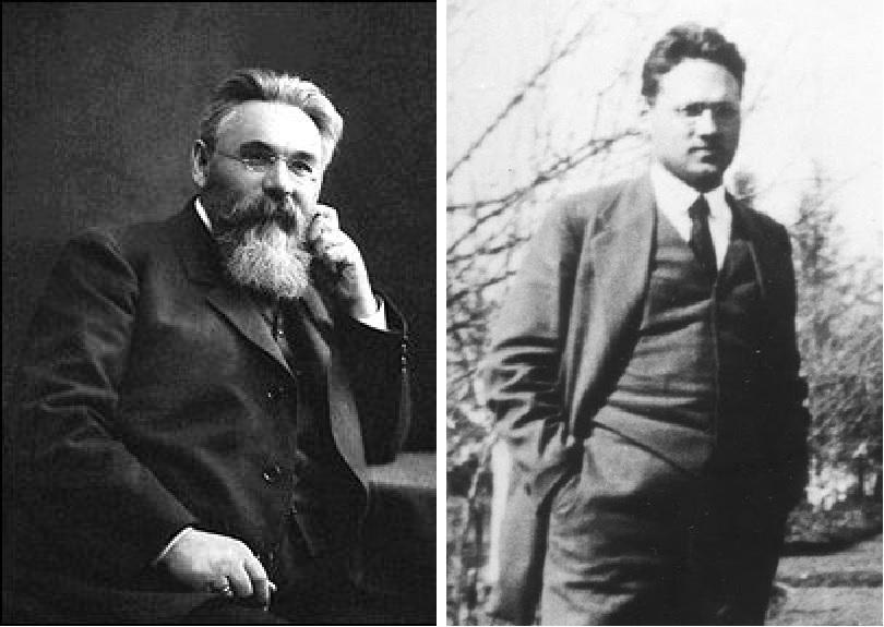 Лев Платонович Симиренко и его сын Владимир Львович