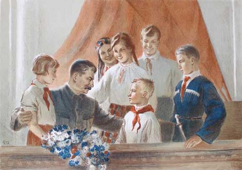 Картинки по запросу сталин и дети