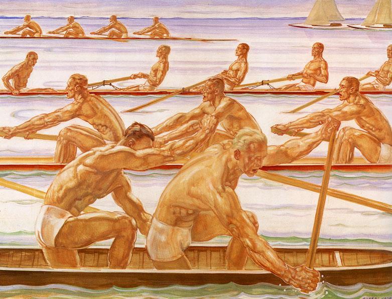 Albert Janesch  Водные виды спорта 1936