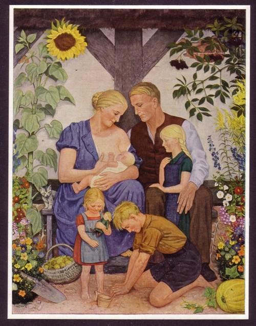 Wolfgang Willrich Familienbildnis 1938