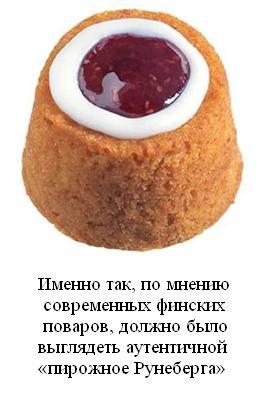 Пирожное Рунеберга текст