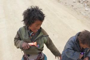 Заряд-ка в Тибете