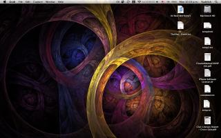 Desktop snapshot
