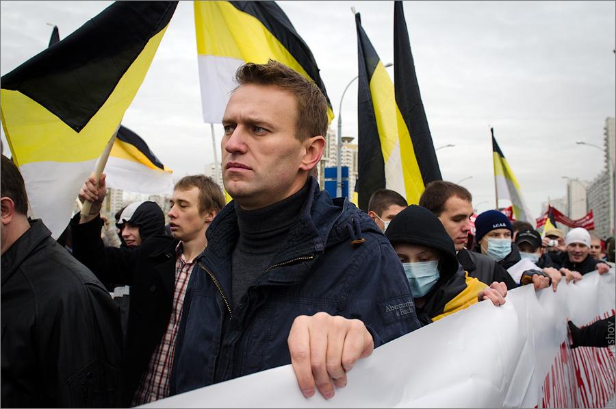"""Московские националисты распространяют заявление """"Русские за Навального!"""""""