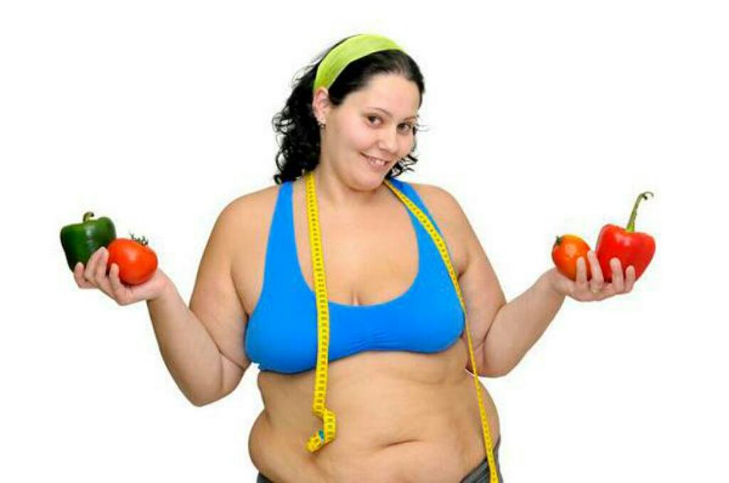 О похудении толстых девушек