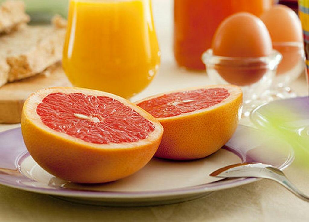 Диета половина грейпфрута яйцо