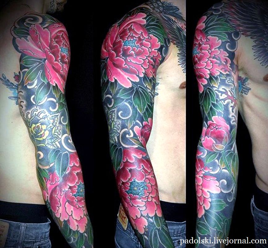 beautiful-pink-florals-japanese-sleeve-tattoo-for-men.jpg