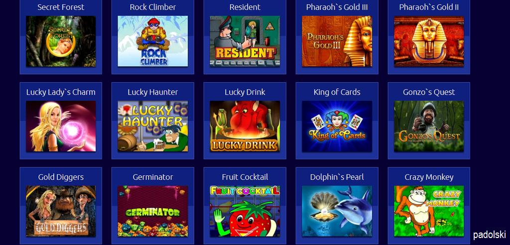 Слоти ігрові автомати грати безкоштовно і без реєстрації