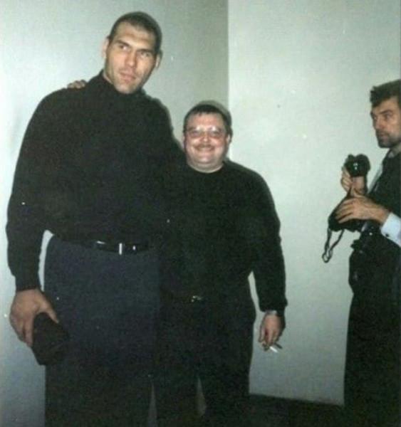 Николай Валуев и Михаил Круг, 1999 год