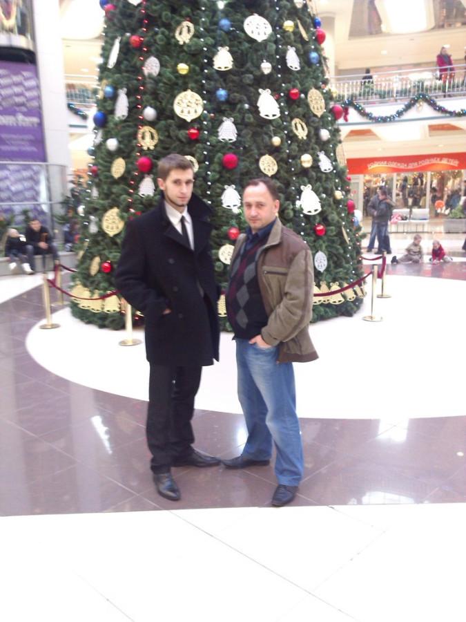 я и сын