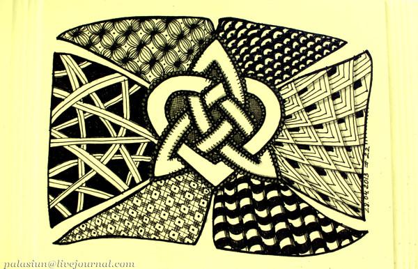 кельтский узел сердца 22
