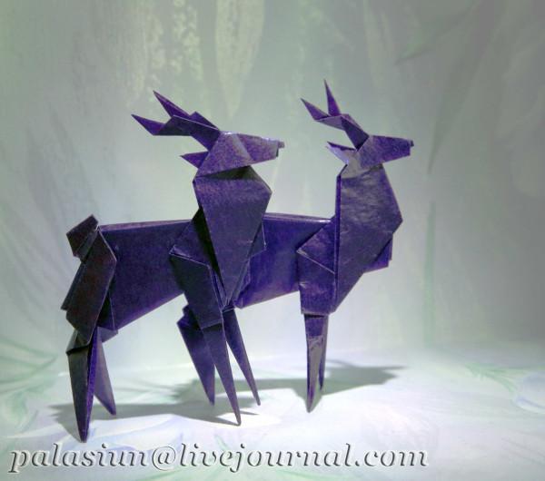 """Схема из книги """"Origami"""