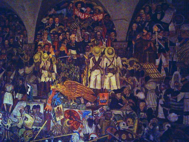 Mural_Diego_Rivera independence from spain