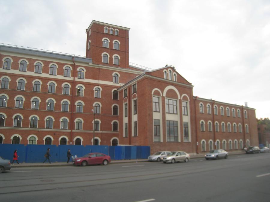 Бывшая прядильно-ткацкая фабрика