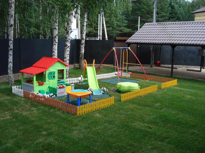 Проекты детской площадки на даче своими руками