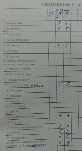 Школьное