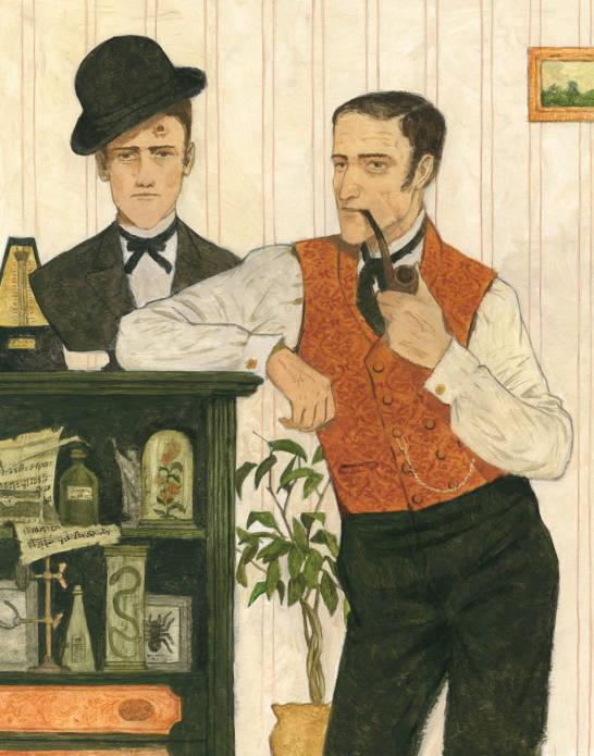 Лучший нарисованный Шерлок Холмс